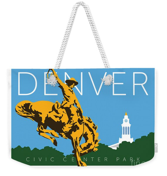 Denver Civic Center Park Weekender Tote Bag