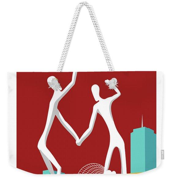 Denver Dancers/maroon Weekender Tote Bag