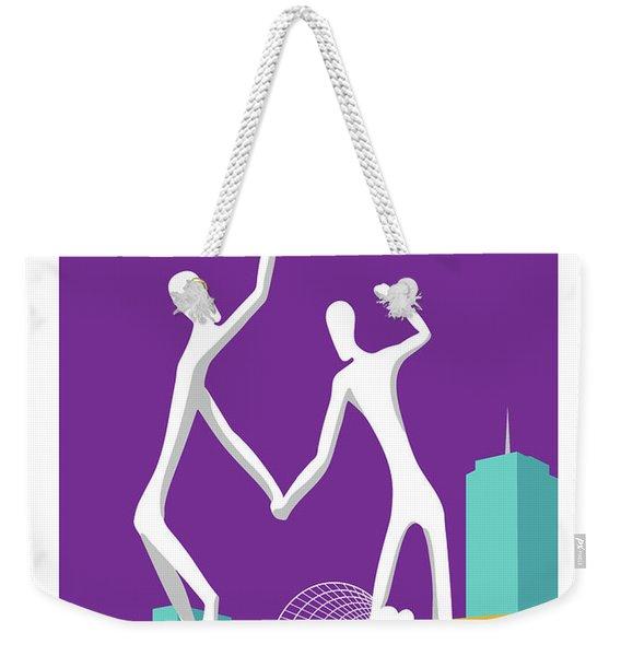 Denver Dancers/purple Weekender Tote Bag
