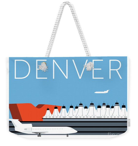 Denver Dia/blue Weekender Tote Bag