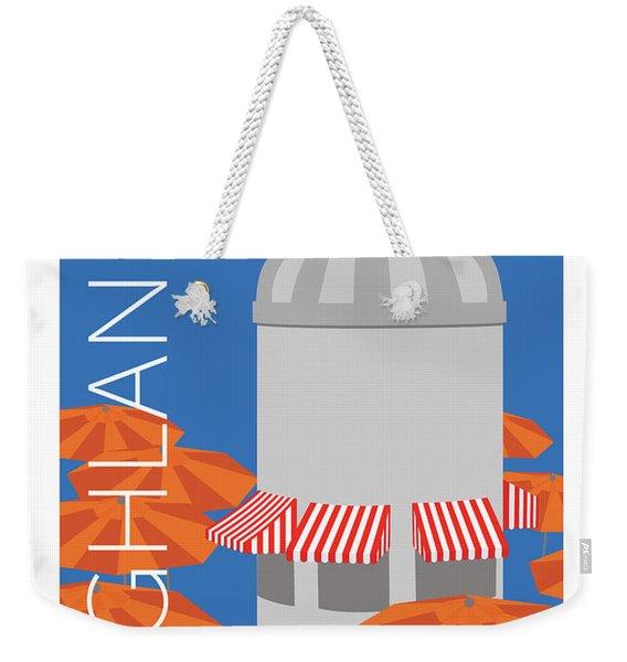 Denver Highlands/blue Weekender Tote Bag