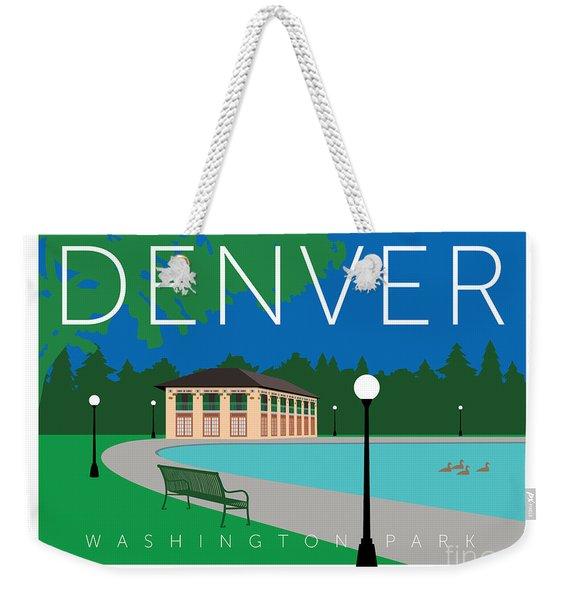Denver Washington Park Weekender Tote Bag