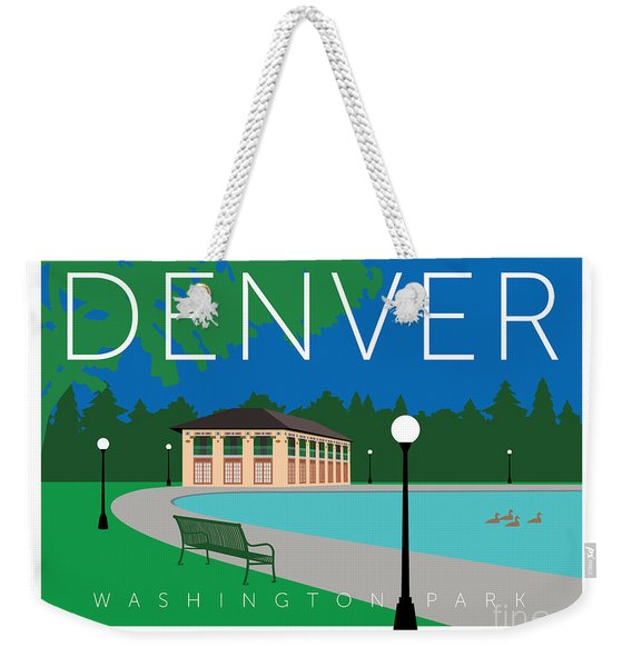 Denver Washington Park Weekender Tote Bag