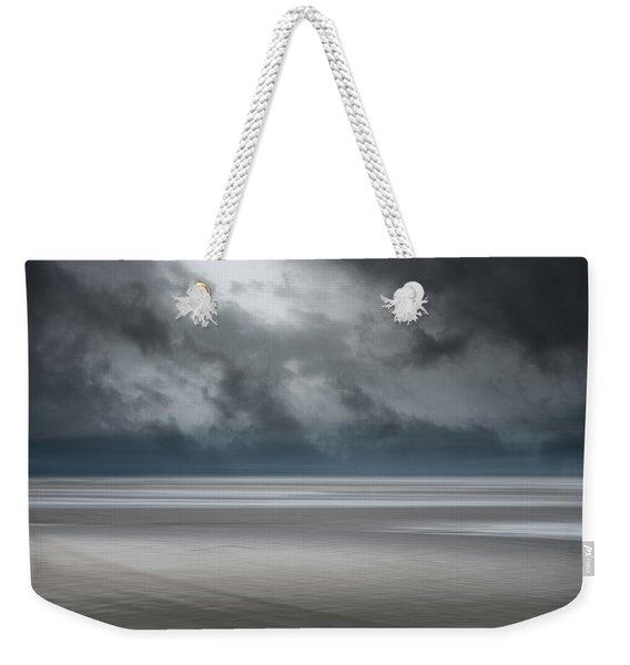 Departing Storm Weekender Tote Bag