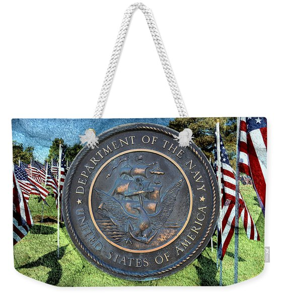 Department Of The Navy - United States Weekender Tote Bag