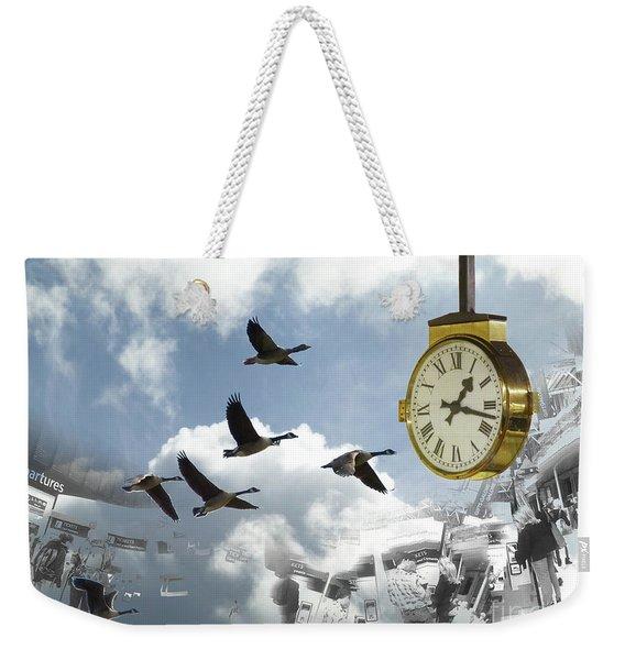 Departures Weekender Tote Bag