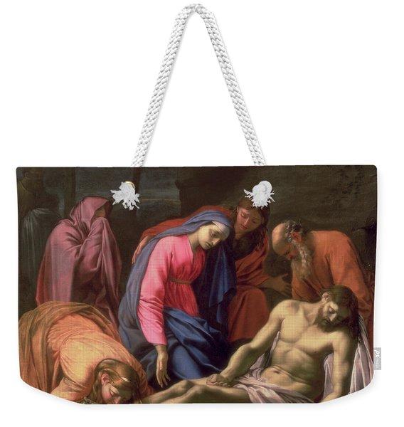 Deposition Weekender Tote Bag