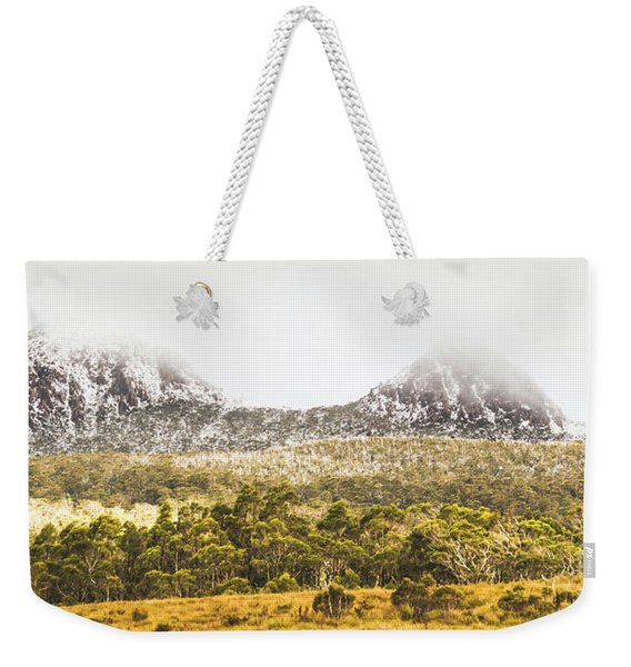 Depths And Ranges  Weekender Tote Bag