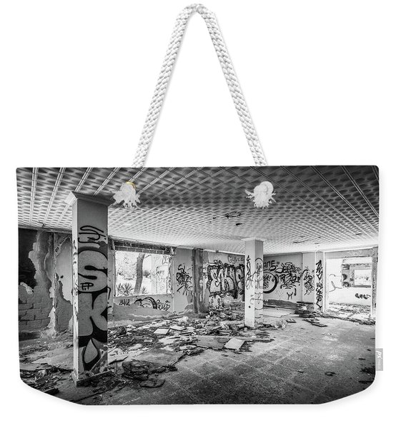 Derelict Room. Weekender Tote Bag
