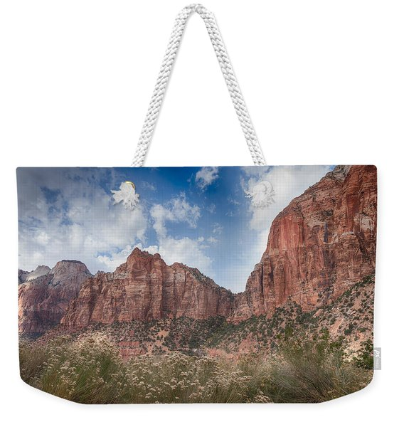 Descent Into Zion Weekender Tote Bag