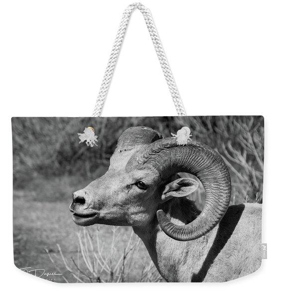 Desert Bighorn Weekender Tote Bag