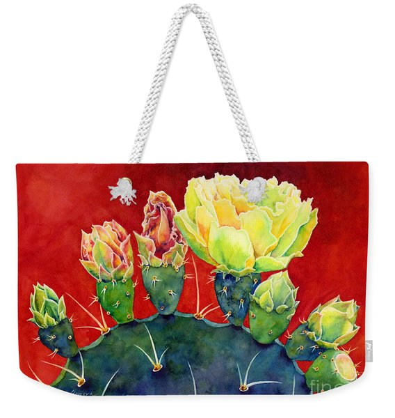 Desert Bloom 3 Weekender Tote Bag