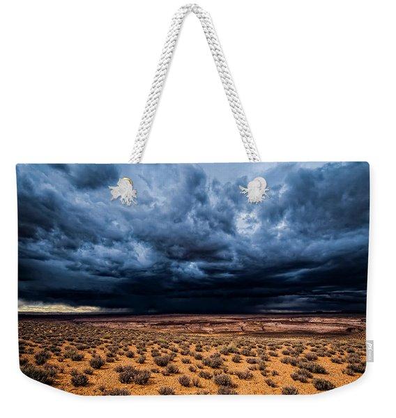 Desert Clouds Weekender Tote Bag