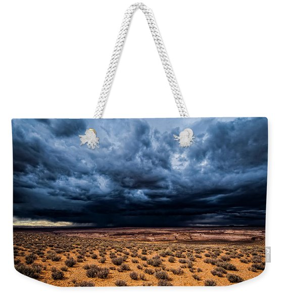 Desert Clouds Weekender Tote Bag