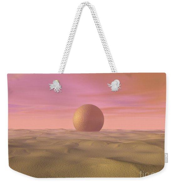 Desert Dream Of Geometric Proportions Weekender Tote Bag