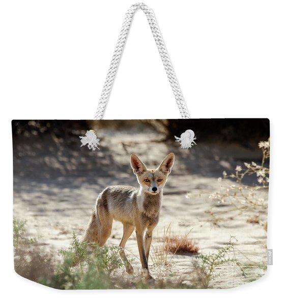 Desert Fox Weekender Tote Bag