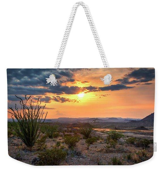 Big Bend Desert Glow II Weekender Tote Bag