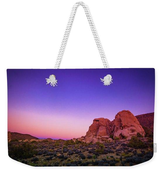 Desert Grape Rock Weekender Tote Bag