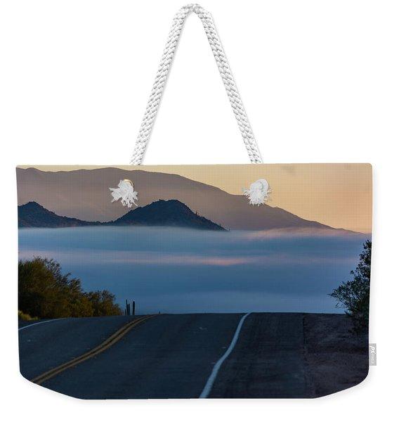 Desert Inversion Highway Weekender Tote Bag