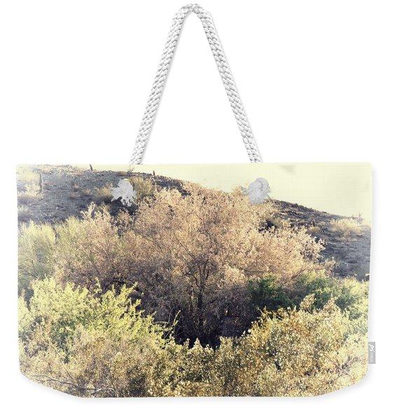 Desert Ironwood Afternoon Weekender Tote Bag