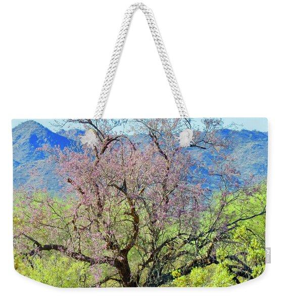 Desert Ironwood Beauty Weekender Tote Bag