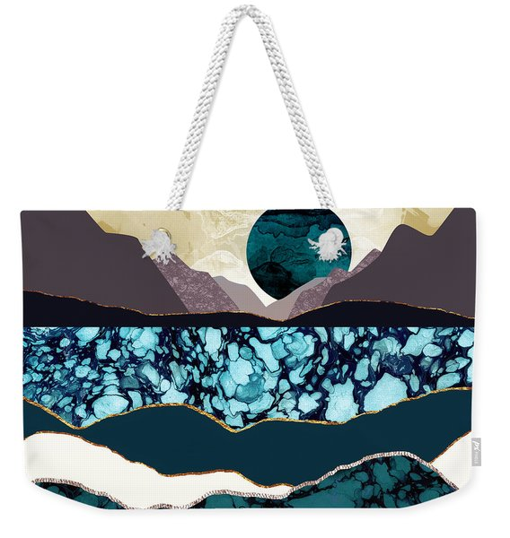 Desert Lake Weekender Tote Bag