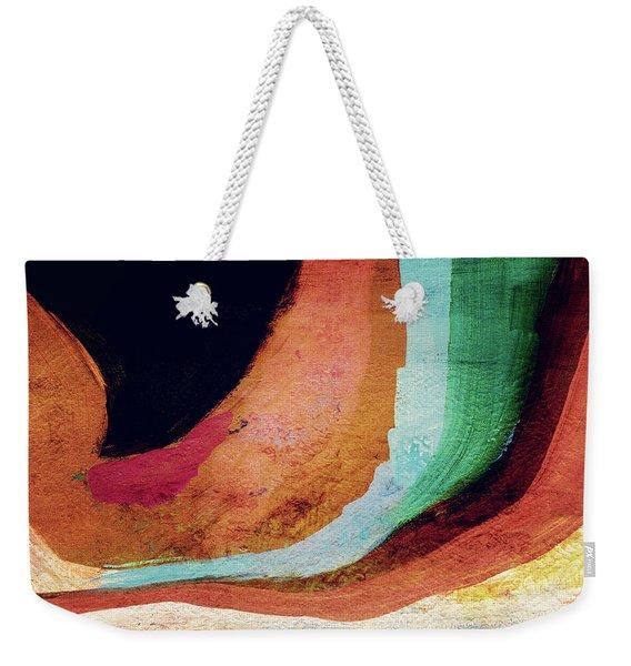Desert Night-abstract Art By Linda Woods Weekender Tote Bag