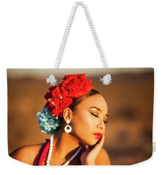 Desert Pearl Weekender Tote Bag