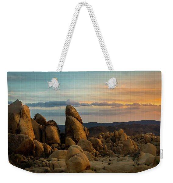 Desert Rocks Weekender Tote Bag