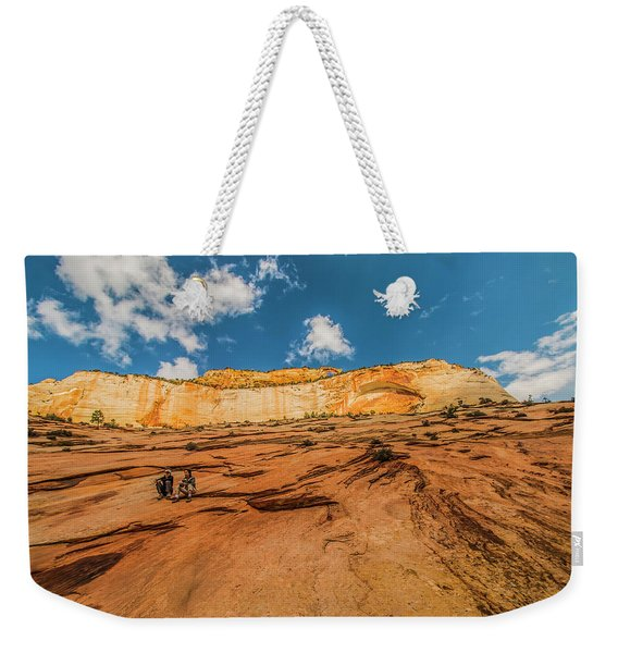 Desert Solitaire With A Friend Weekender Tote Bag