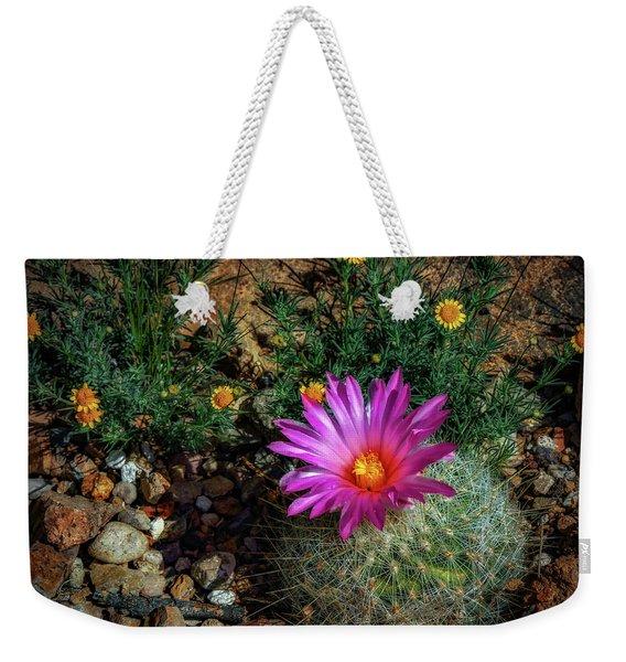 Desert Splash Weekender Tote Bag