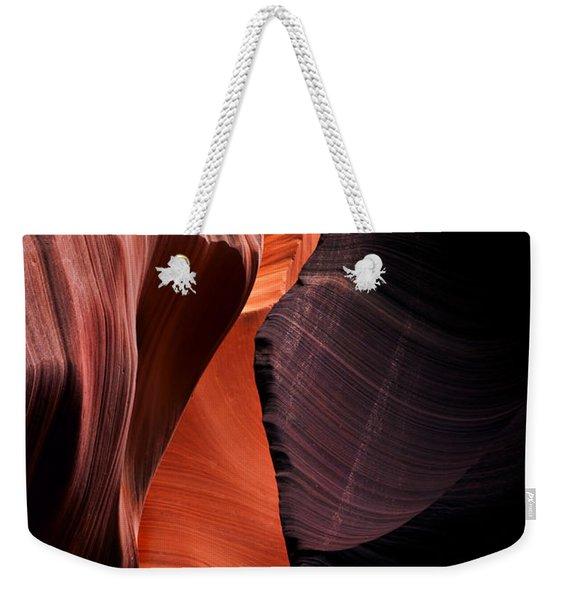 Desert Split Weekender Tote Bag