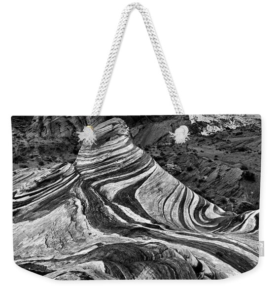 Desert Stripes Weekender Tote Bag