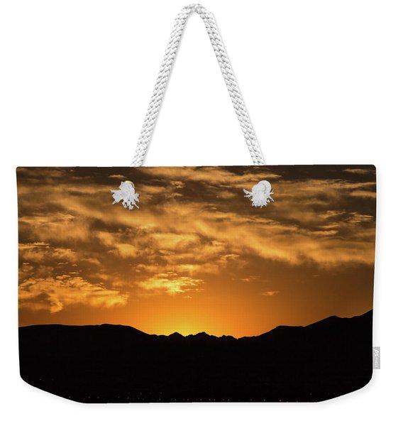 Desert Sunrise Weekender Tote Bag