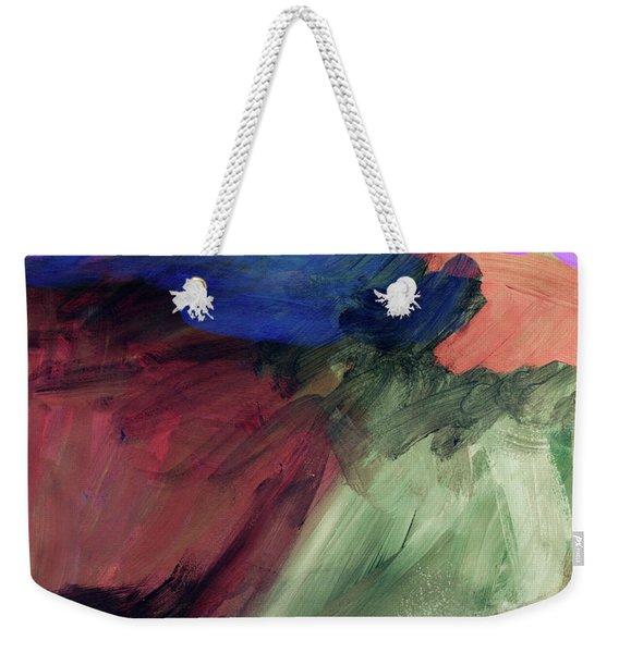 Desert Sunset 1- Art By Linda Woods Weekender Tote Bag