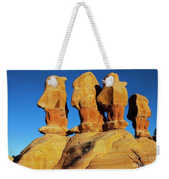 Desert Trolls Weekender Tote Bag