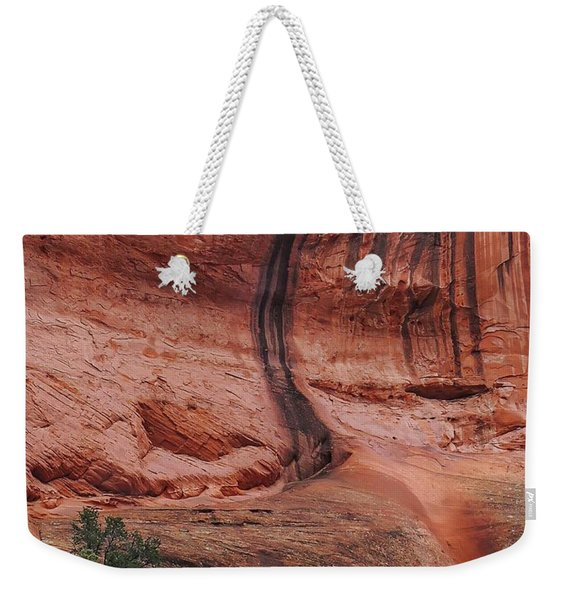 Desert Varnish Along Burr Trail Weekender Tote Bag