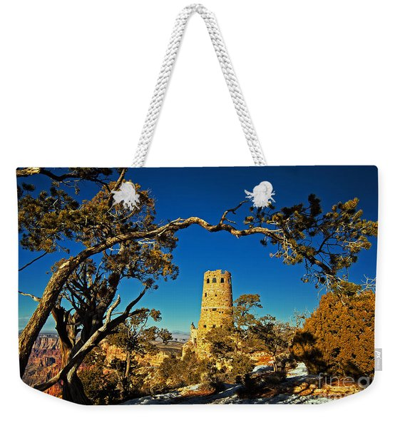 Desert View Watchtower, Grand Canyon National Park, Arizona Weekender Tote Bag