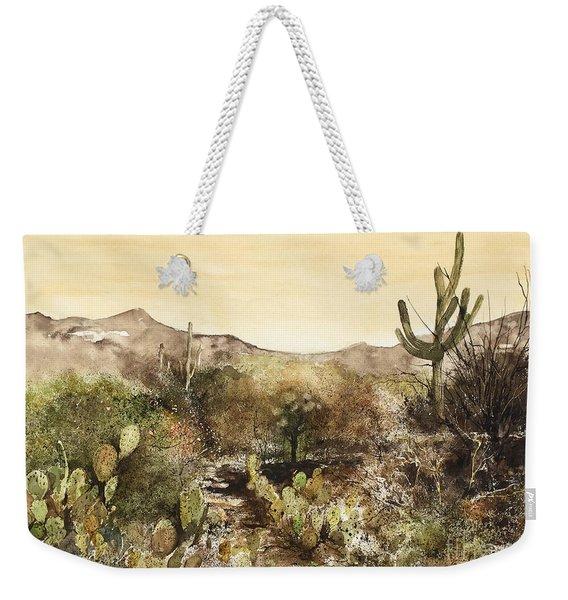 Desert Walk Weekender Tote Bag
