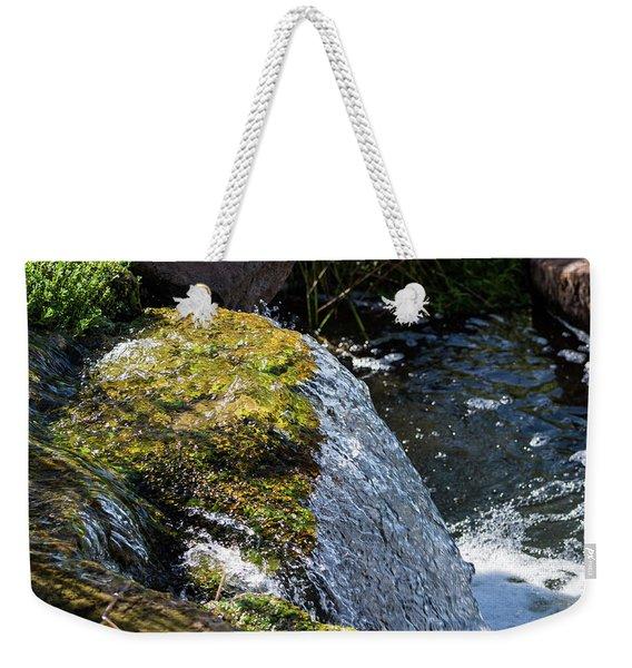 Desert Waterfall Weekender Tote Bag