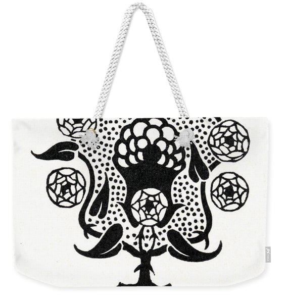 Design For The Front Cover Of Salome Weekender Tote Bag