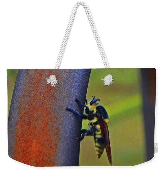 Design Of The Bee Weekender Tote Bag