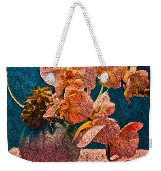 Designer Floral Arrangement Weekender Tote Bag
