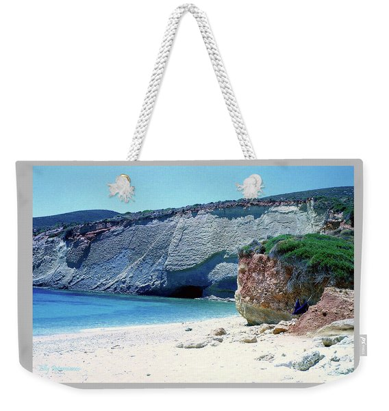 Desolated Island Beach Weekender Tote Bag