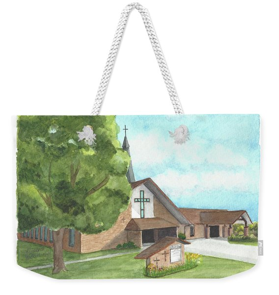 De Soto Baptist Church Weekender Tote Bag