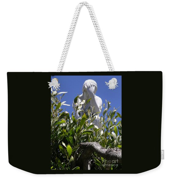 Weekender Tote Bag featuring the photograph Despair by Cynthia Marcopulos