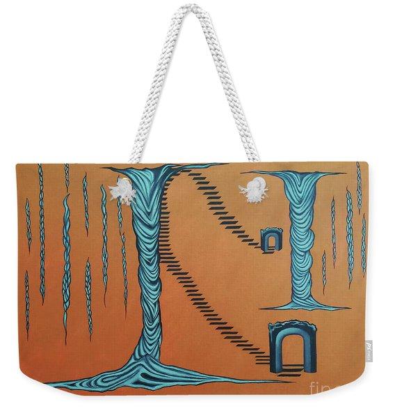Destined Flow Weekender Tote Bag