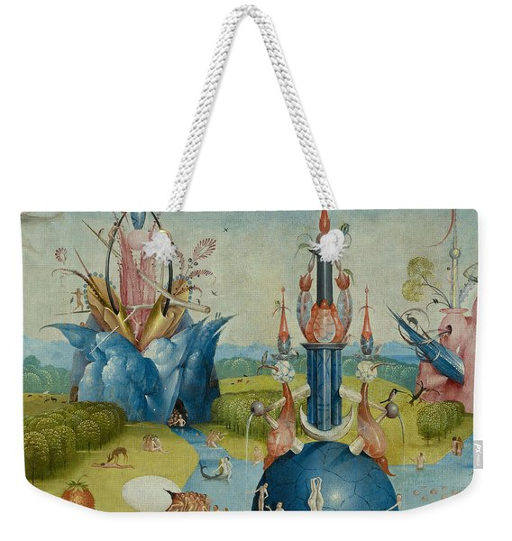 Detail From The Garden Of Earthly Delights  Central Panel Weekender Tote Bag