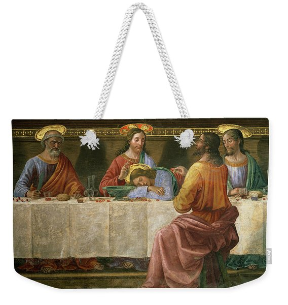 Detail From The Last Supper Weekender Tote Bag