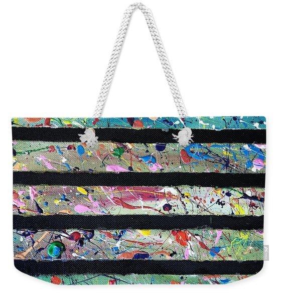 Detail Of Agoraphobia 2 Weekender Tote Bag